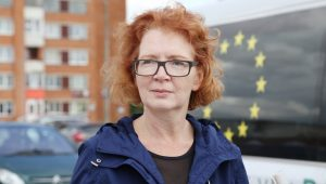 Yana Toom MEP. The Russian-speaking Estonian 'may be pro-Russian'. And for George Soros, that would never do.
