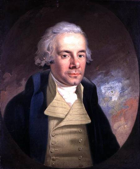 William Wilberforce (1759-1833). Portrait by Anton Hickel (Wilberforce House, Hull, UK)