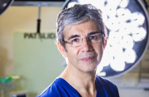Mr David Nott is a respected surgeon but blames 'Assad' for everything.