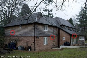 Christopher Steele's home in Farnham bristles with CCTV