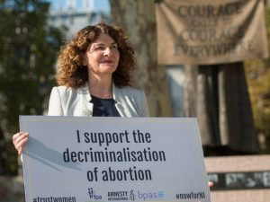 Diana Johnson MP wants to decriminalise abortion.