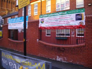 Parkfield Community School, where gay activist Andrew Moffat has been promoting No Outsiders