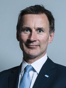 Rt Hon Jeremy Hunt MP.