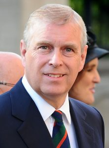 HRH The Duke of York. Photo by Aaron McCracken/Harrisons