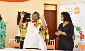 Dr. Natalia Kanem promoting 'reproductive rights' with pro-abortion Kenyan MP Esther Passaris
