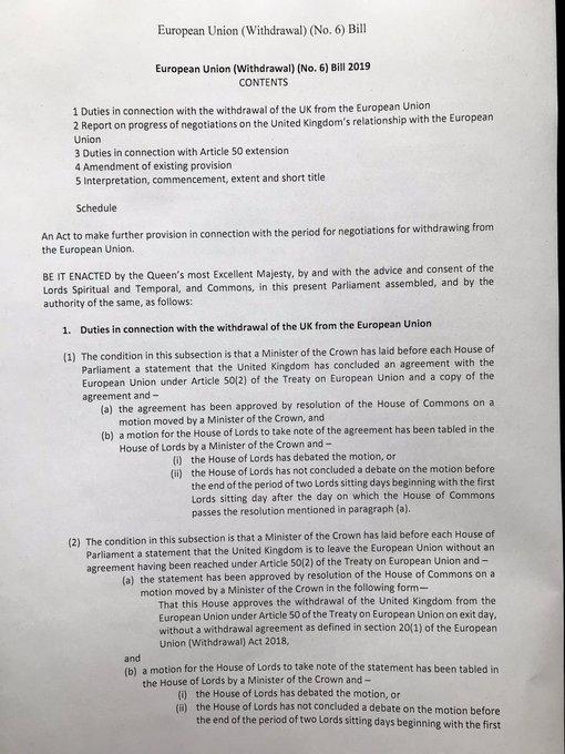 Mr Benn's Bill page 1