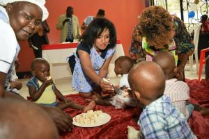 Esther Passaris is good at promoting herself.
