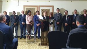 Ambassadors of eleven nations held a press conference to condemn the ICPD25 Nairobi Summit and UNFPA