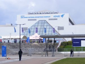 NHS Nightingale Hospital at Excel Centre in London is virtually unoccupied.