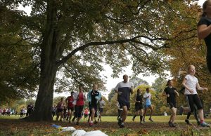 'Fearfully and Wonderfully made': Participants in the Bushey Park Park Run. Exercise is the single most important thing you can do to boost your immune system.