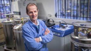 Professor Robin Shattock develops vaccines at Imperial College