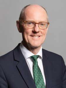 Nick Gibb MP, Minister of State at the Department for Education