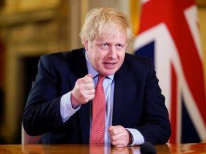 Boris Johnson gives his address address