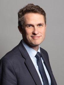 Rt Hon Gavin Williamson MP, Secretary of State for Education
