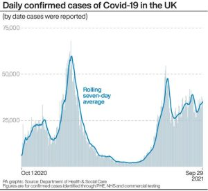 Covid positive test results